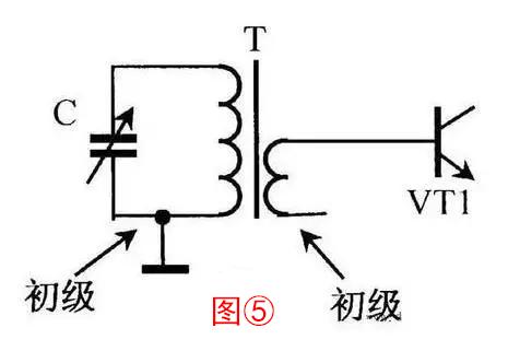 收音机的磁性天线就是一个高频变压器,初级线圈与可变电容器c组成选频