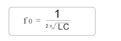 谐振频率公式